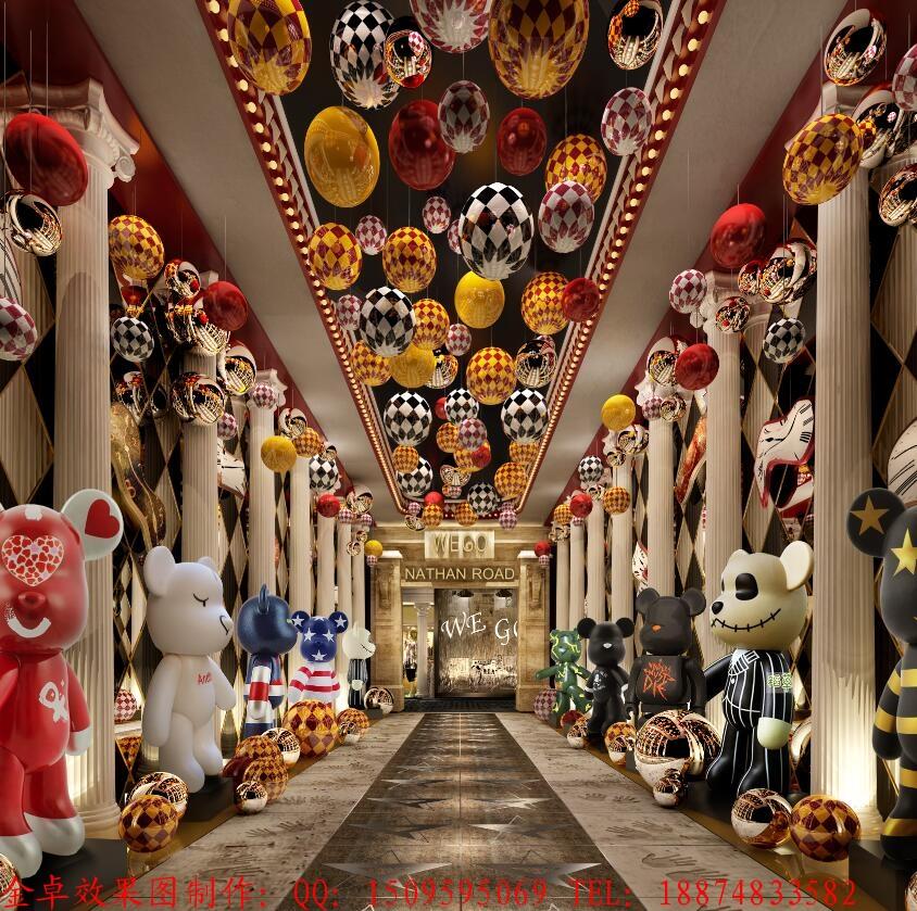 商场效果图制作 描述 上一:商铺效果图制作儿童服装区 下一:仿古商铺